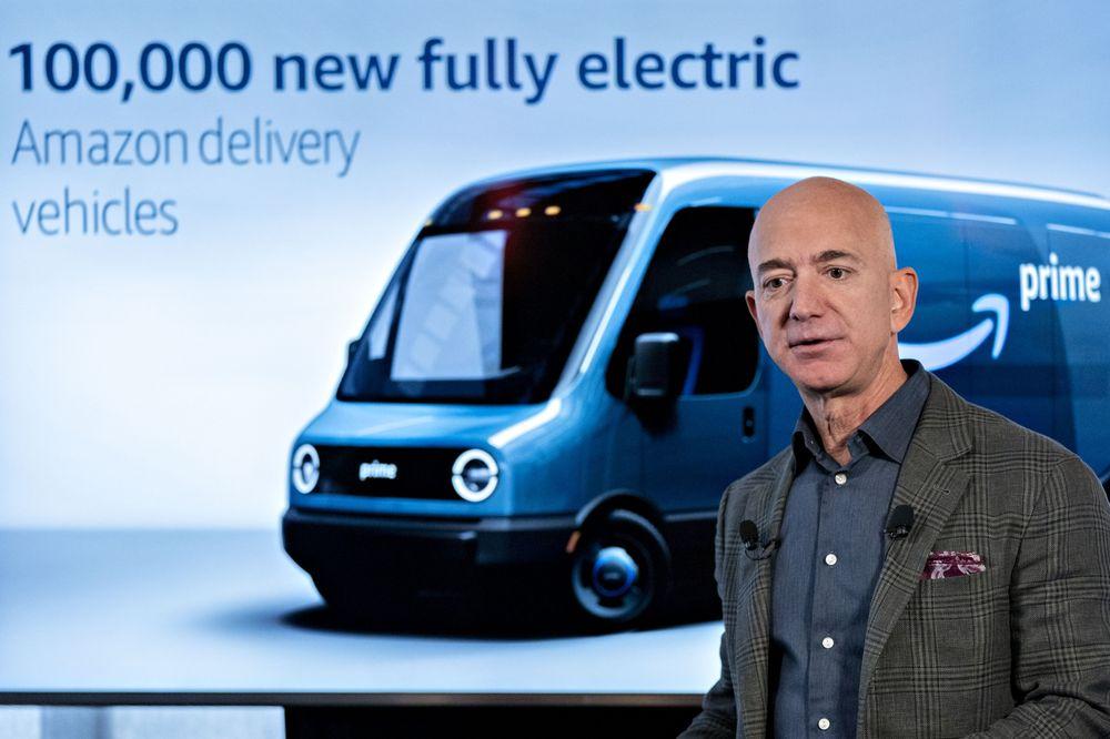 amazon-investe-in-furgoni-elettrici